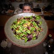 huge beef salad