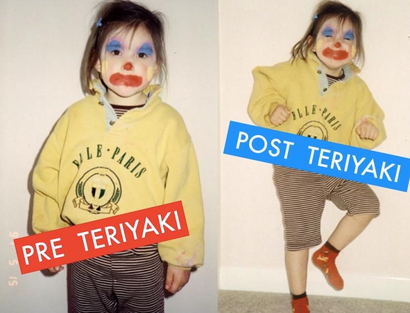 pre and post teriyaki